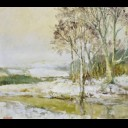 WINTER LANDSCAPE, NEW ABBEY