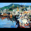 FISHING BOATS AT GIRVAN