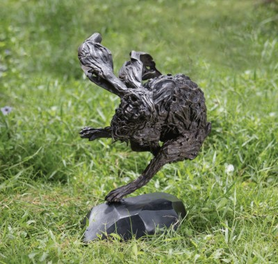 THE BLACK HARE (BRONZE) EDITION OF 10