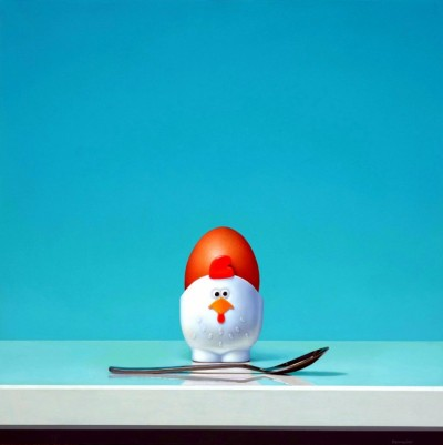 STILL LIFE WITH CHICK EGGCUP