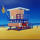 13TH STREET LIFE GUARD HUT SOUTH BEACH FLORIDA
