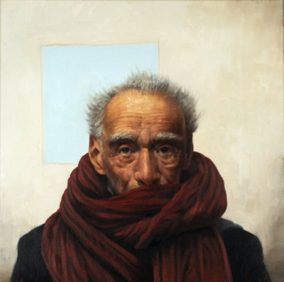 MAN IN A RED SCARF